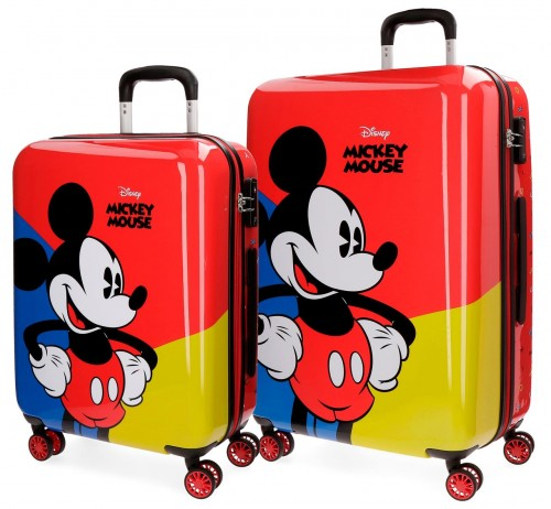 3288961 set trolley cabina y mediano mickey red