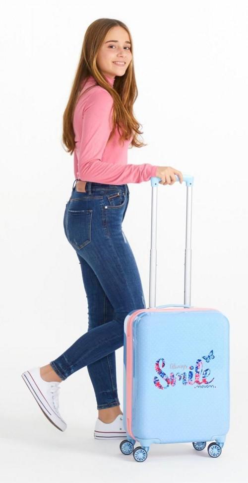 3541761 maleta de cabina 4 ruedas movom Always Smile