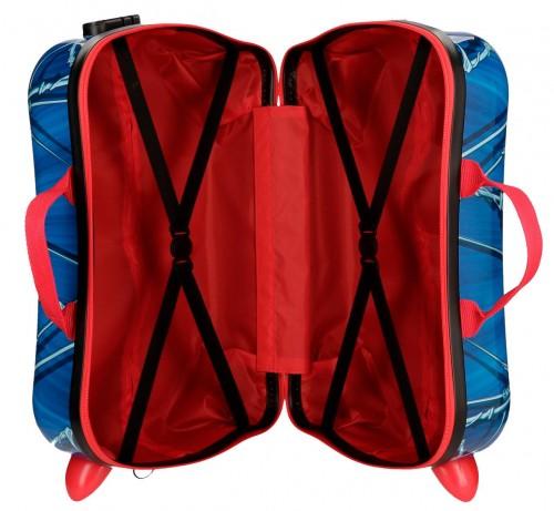 4589861 maleta infantil correpasillos spiderman black interior