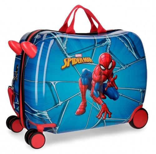 4589861 maleta infantil correpasillos spiderman black