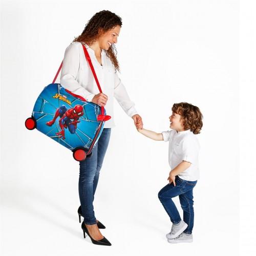 4589961 maleta infantil correpasillos spiderman black  detalle