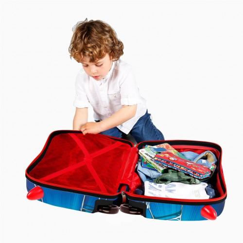4589961 maleta infantil correpasillos spiderman black interior