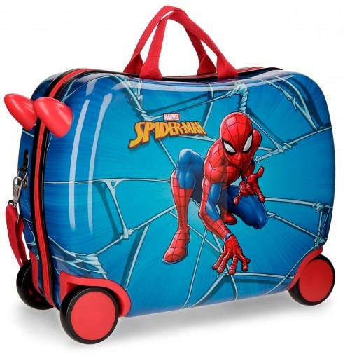 4589961 maleta infantil correpasillos spiderman black