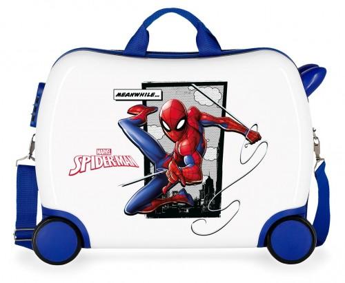 4659961 maleta infantil correpasillos 50 cm  spiderman action