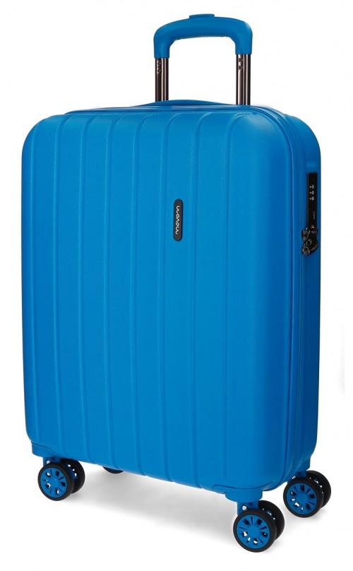 5319169 maleta cabina movom wood azulón
