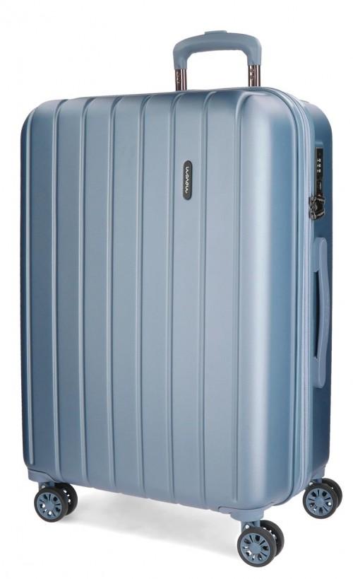 5319263 maleta mediana movom wood plata