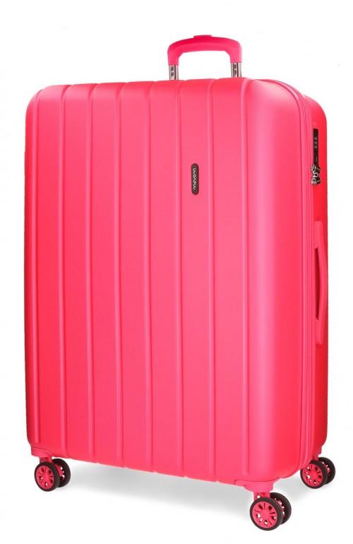 5319268 maleta mediana movom wood fucsia
