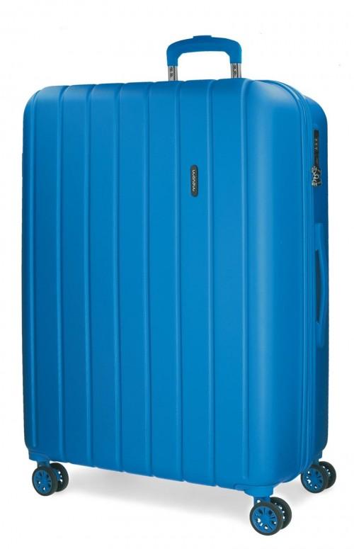 5319269 maleta mediana movom wood azulón