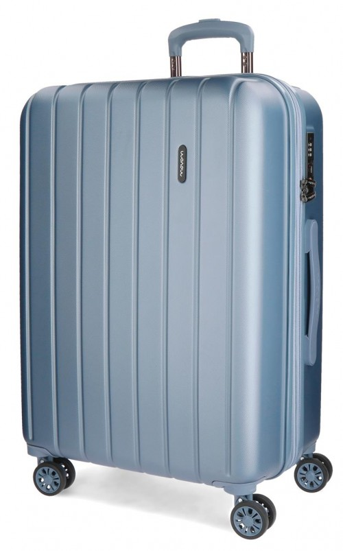 5319363 maleta grande movom wood plata