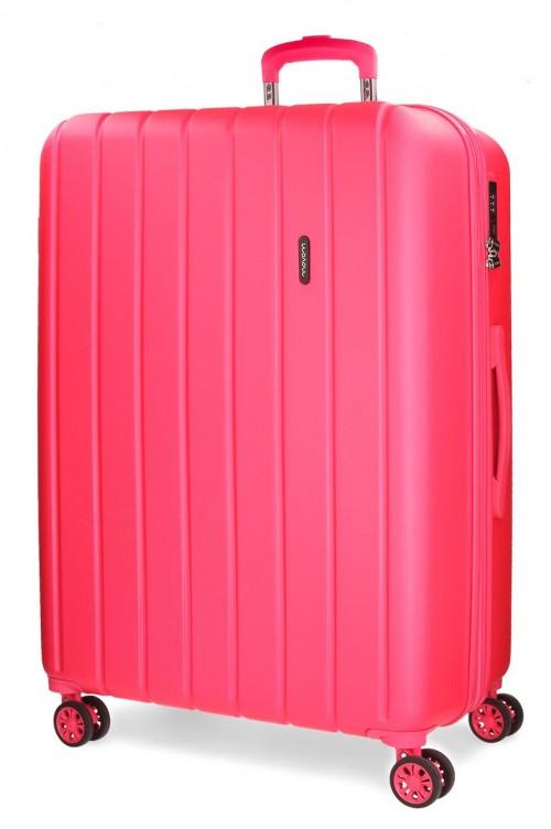 5319368 maleta grande movom wood fucsia
