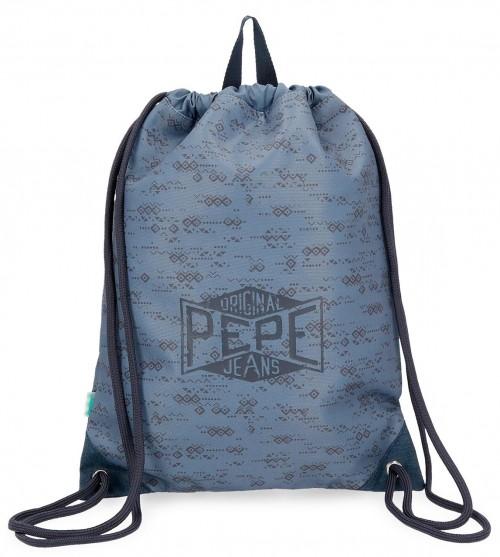6033861 saco de cuerdas pepe jeans pierce