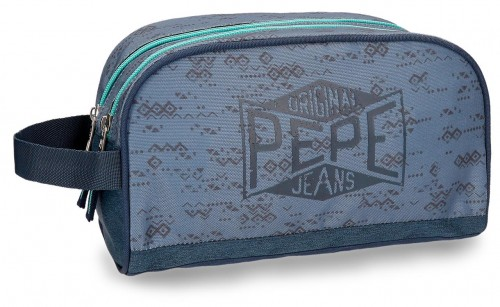 6034461 neceser dos cremalleras adaptable al trolley  pepe jeans pierce