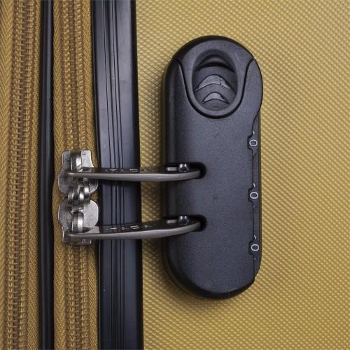 71550 maleta cabina itaca mostaza cerradura combinación