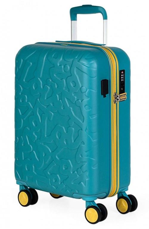 17115002 maleta de cabina en abs lois zion aguamarina