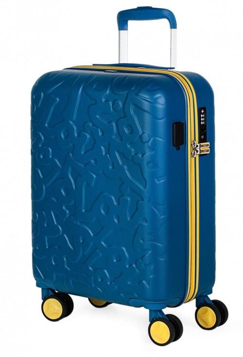 17115001 maleta de cabina en abs lois zion azul