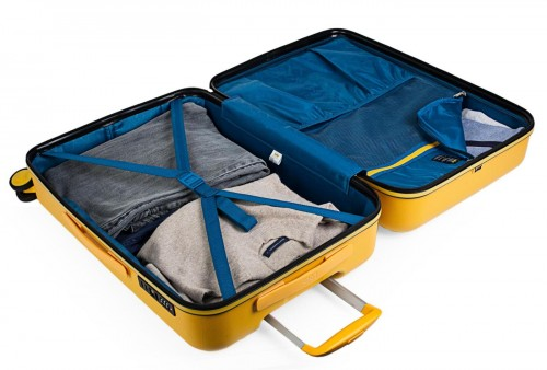17115003 maleta de cabina en abs lois zion mostaza interior
