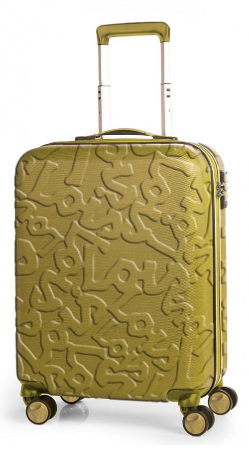17115003 maleta de cabina en abs lois zion mostaza