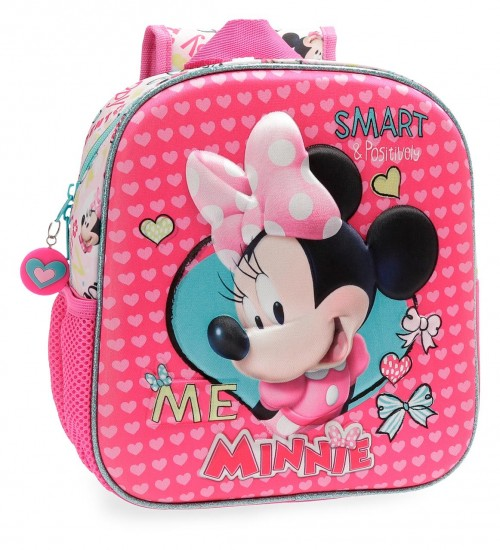 2232061 mochila guardería 25 cm minnie happy helpers