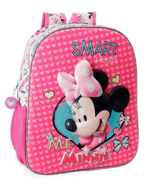 2232261 mochila de guarderia  33 cm Minnie Happy Helpers