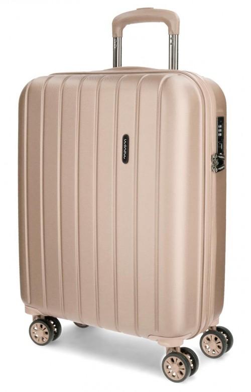 5319165 maleta cabina movom wood champagne