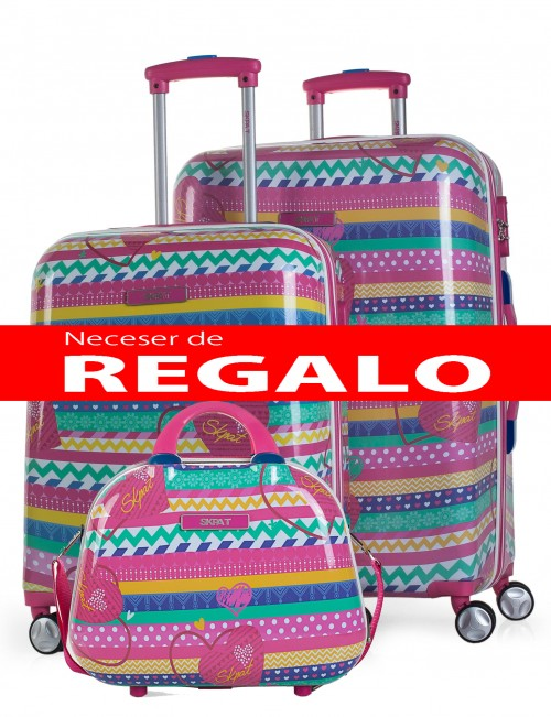 53700 Juego maleta cabina y mediana SKPA T Africa
