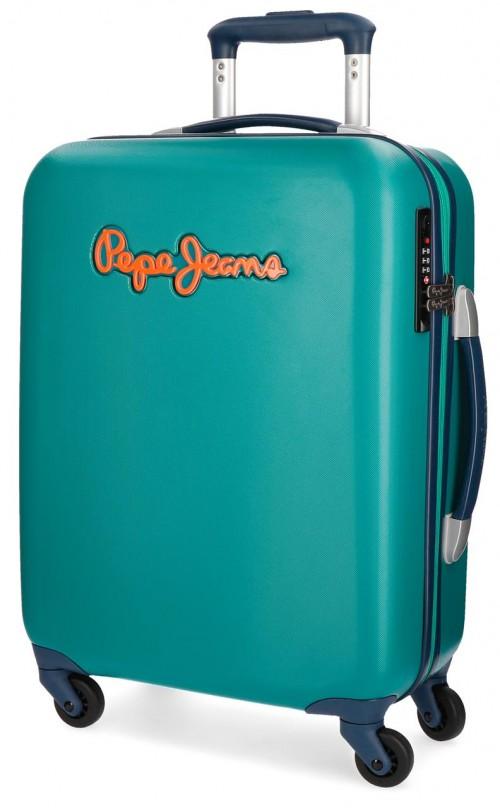 5399164 maleta cabina pepe jeans bristol verde