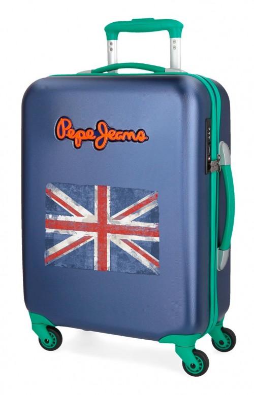 5399165 maleta cabina pepe jeans bristol + bandera marino