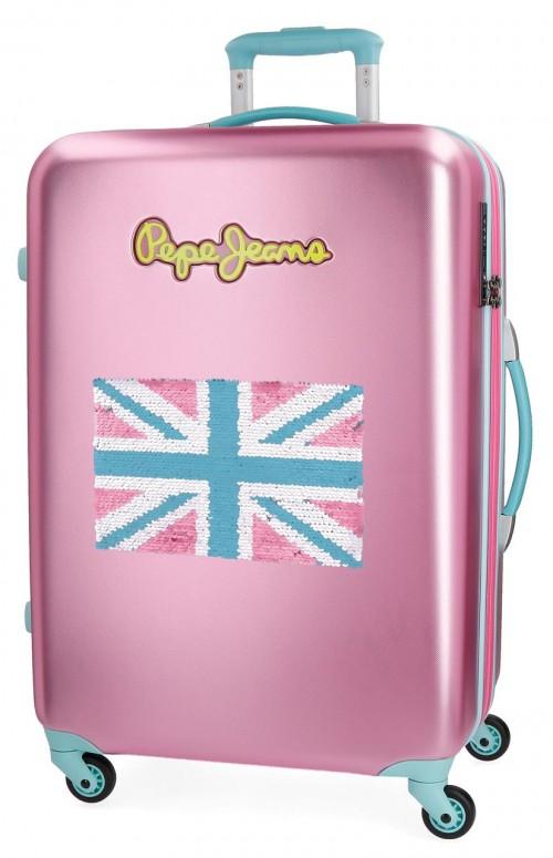 5399267 maleta mediana bristol bandera rosa