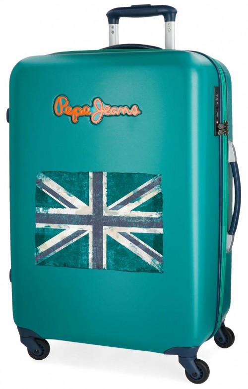 5399268 maleta mediana bristol bandera verde