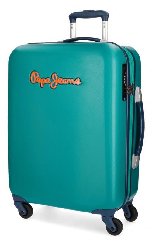 5399364 maleta grande pepe jeans bristol verde