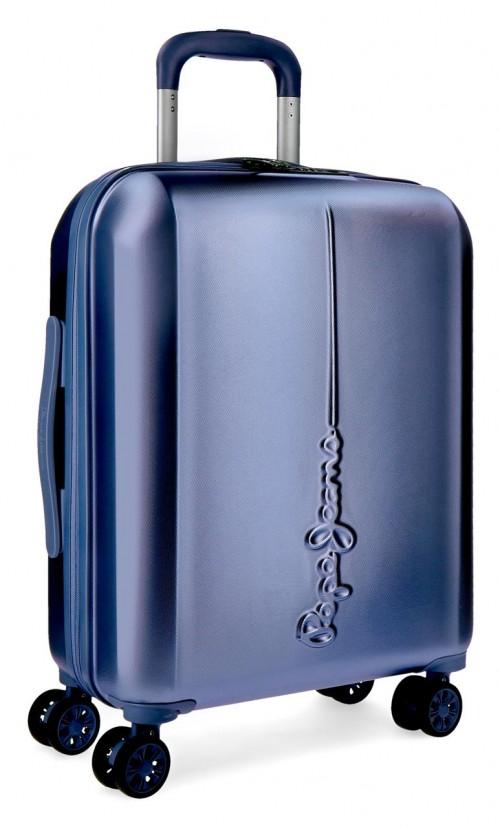 5418763 maleta cabina pepe jeans cambridge azul