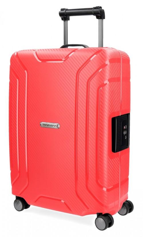 5629163 maleta polipropileno cabina movom newport roja