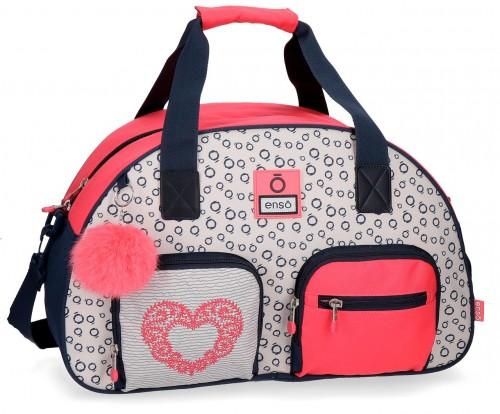 9023161 bolsa de viaje 45 cm enso heart
