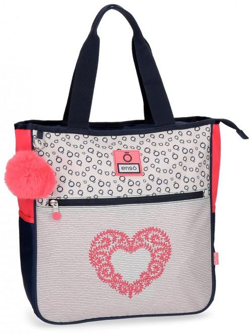 9026561 bolso shopping enso heart 36 cm