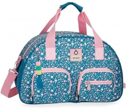 9033161 bolsa de viaje 45 cm enso blue garden