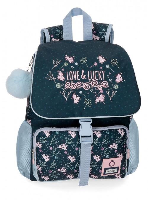 9112261 mochila 37 cm enso love & Lucky