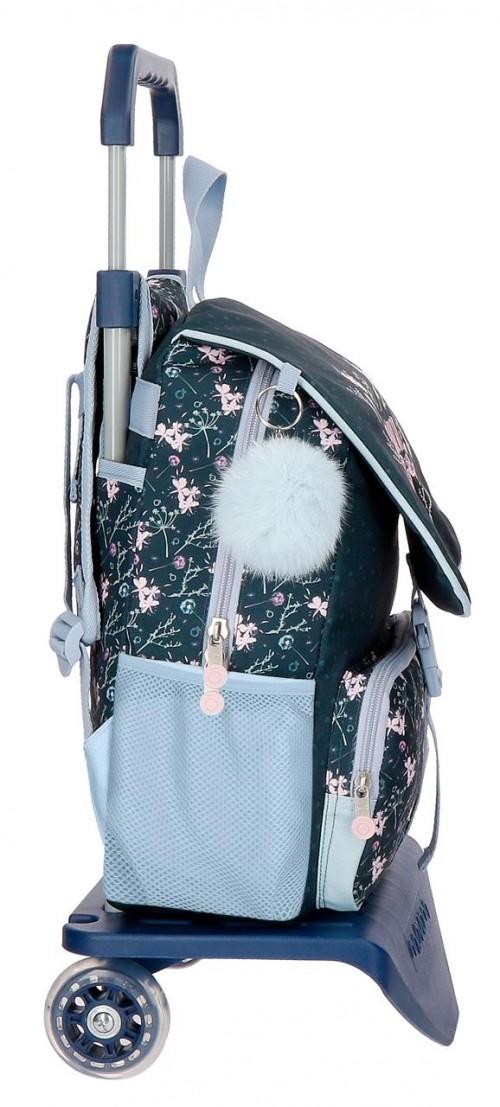 91122N1 mochila 37 cm con crro enso love & lucky lateral
