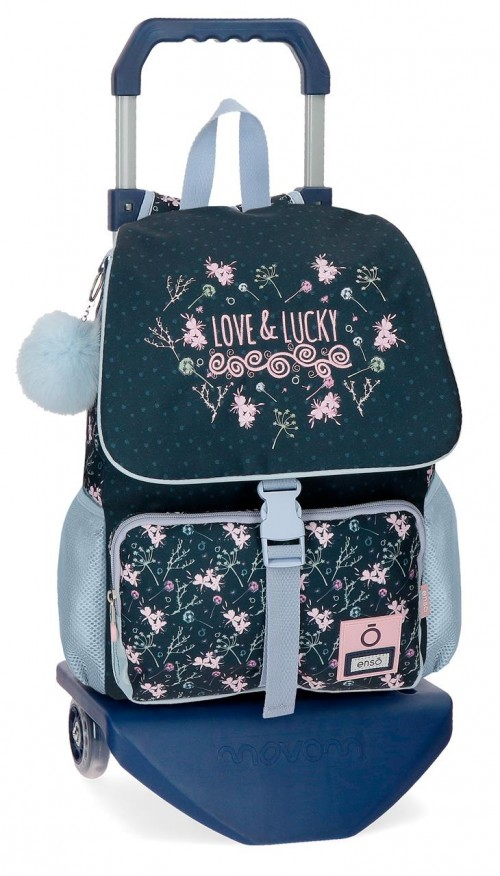 91122N1 mochila 37 cm con crro enso love & lucky