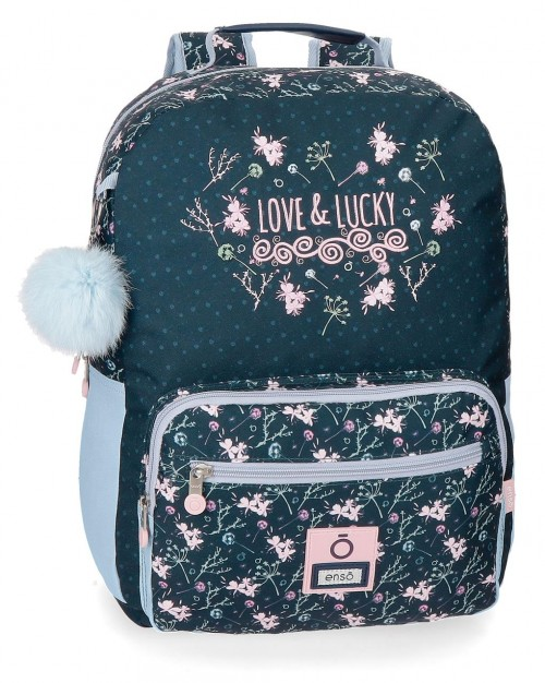 9112361 mochila 42 cm adaptable enso love & lucky