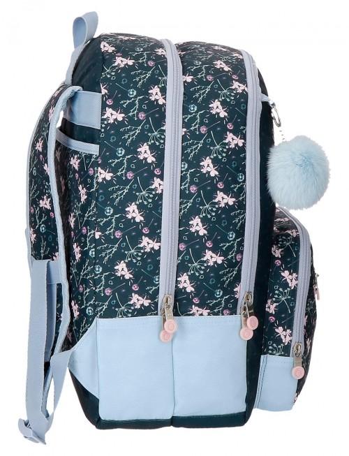 9112461 mochila 44 cm doble, adaptable, enso love & lucky, lateral