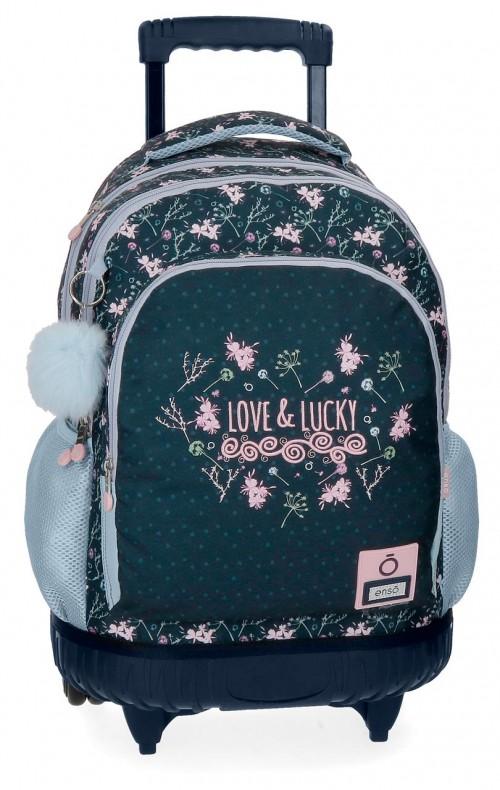 9112961 mochila compacta reforzada enso love & lucky
