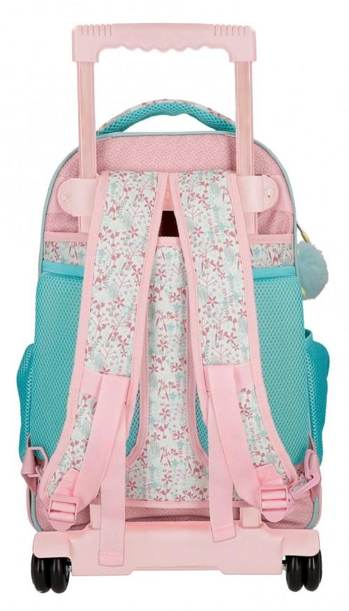 9132961 mochila compacta reforzada enso secret garden trasera