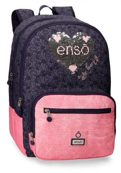 9142461 mochila 44 cm doble c. enso learn