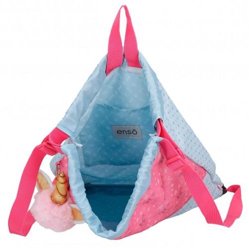 9153861 Gym sac con cremallera trust me interior