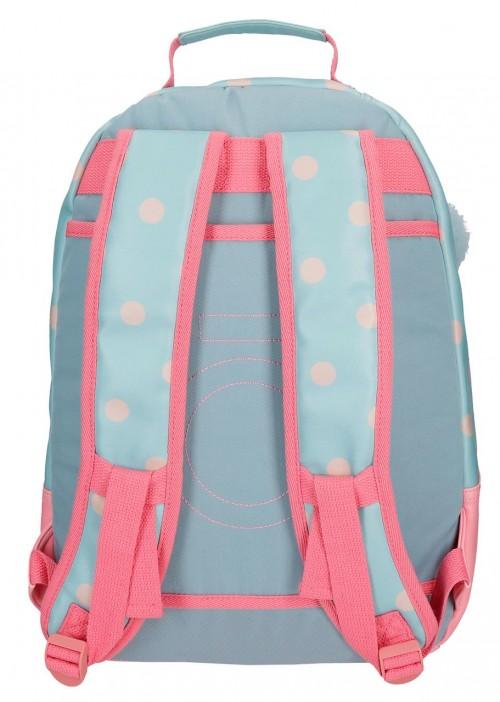 9172361 mochila grande 42 cm enso belle & chic trasera
