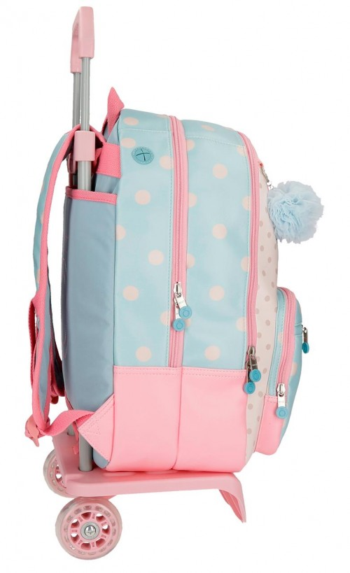 91724N1 mochila 44 cm doble comp. carro enso belle & chic lateral