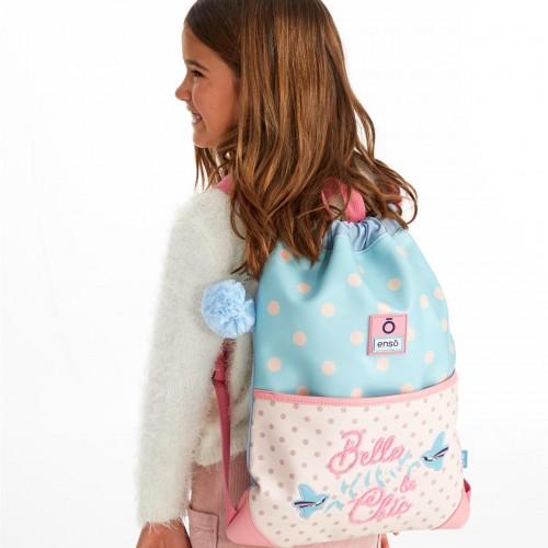 9173861 gym sac con cremallera enso belle & chic detalle
