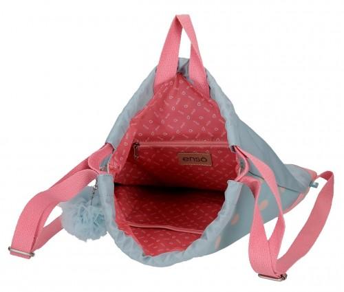 9173861 gym sac con cremallera enso belle & chic interior