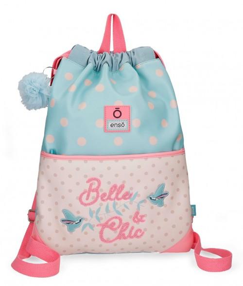 9173861 gym sac con cremallera enso belle & chic