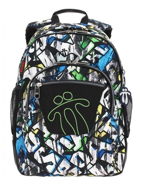 mochila reforzada totto crayoles 3sd
